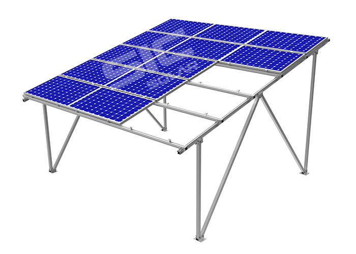 solar panel carport ground mount