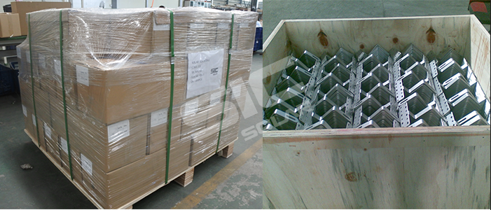 Package for solar roof hook
