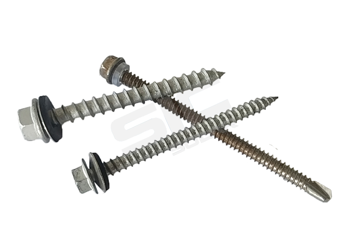 Wooden screw for L feet