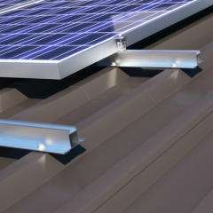 Solar short rail mounting system