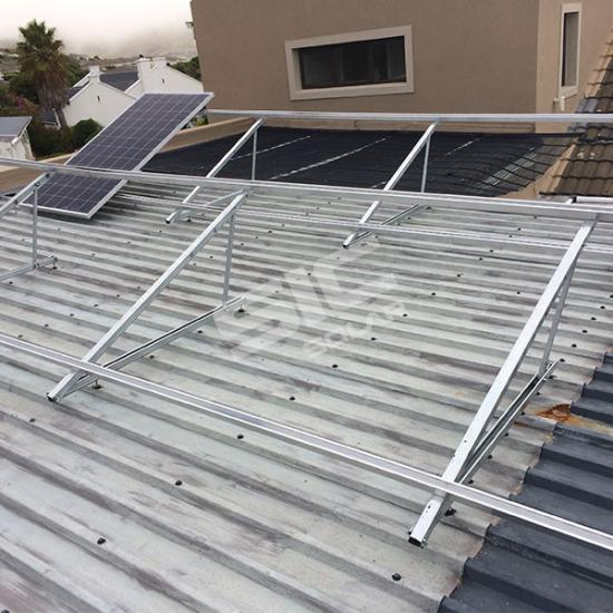 Fixed Triangle Solar Panel Roof Mount