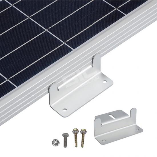 Solar panel mounting z bracket mount kits