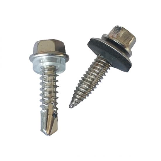 Hexagonal self drilling screw