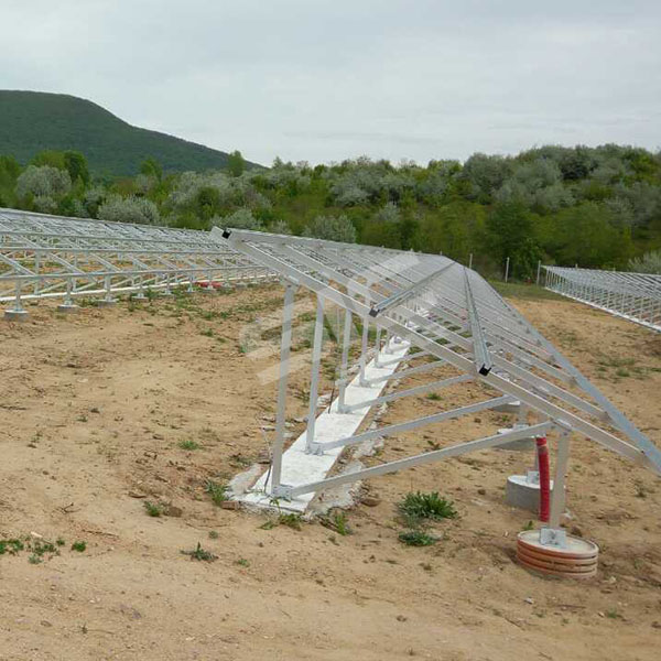 500KW Ground mounting structure in Hungary