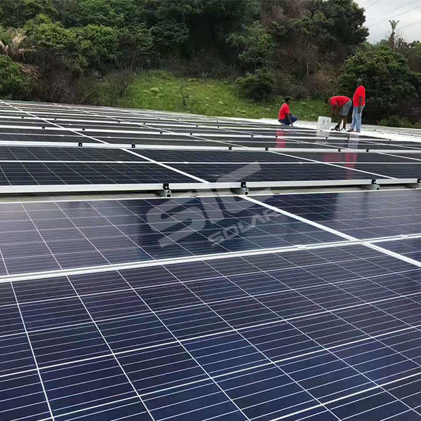 SIC SOLAR offer 50KW metal roof mounting for south africa