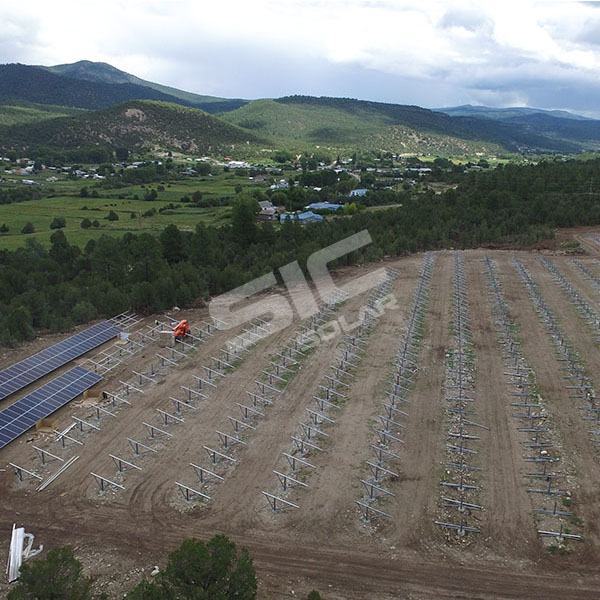 400KW Ground mounting system in Spain